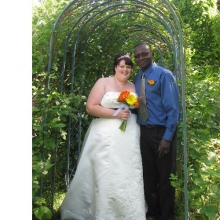 Simbo and Sherry tie the knot