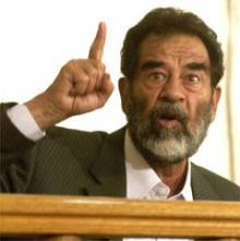Saddam Ends Hunger Strike