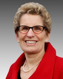 Toronto: Premier talks, lays out vision
