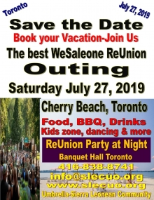 WeSaleone reunion outing July 2019