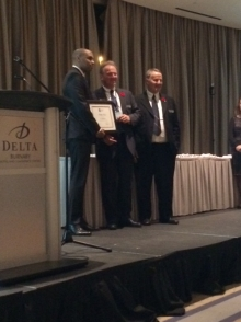 Builders Award for Dr. Eni of British Columbia