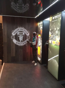 MUCSL coordinator meets with Manchester United Deputy Head