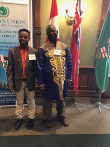 Canada: Africa Day flag-raising ceremony