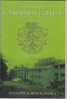 New Fourah Bay College History Published in Canada