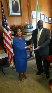 APC-Washington Metropolitan congratulates President Koroma through Ambassador Stevens