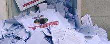 RSF dumps 11,000 envelopes outside Burundian embassy in Paris